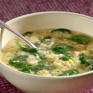 soupe straciatella