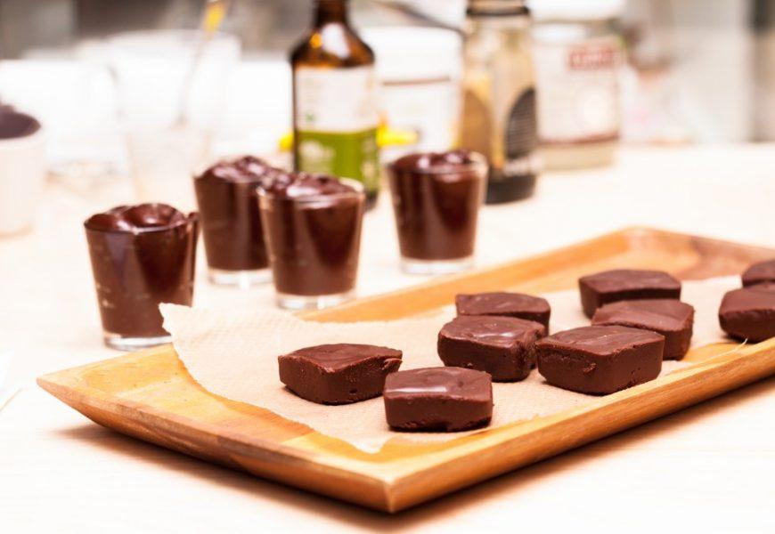 Fudge au chocolat au cacao